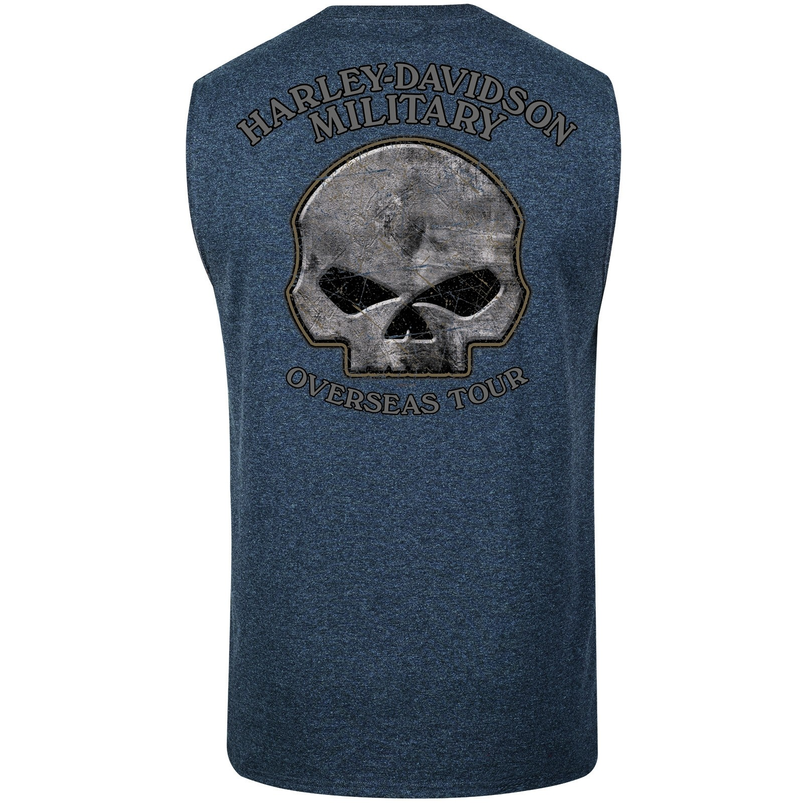 Harley-Davidson Military One a-Kind Graphic T-Shirt Overseas TourRide Fre