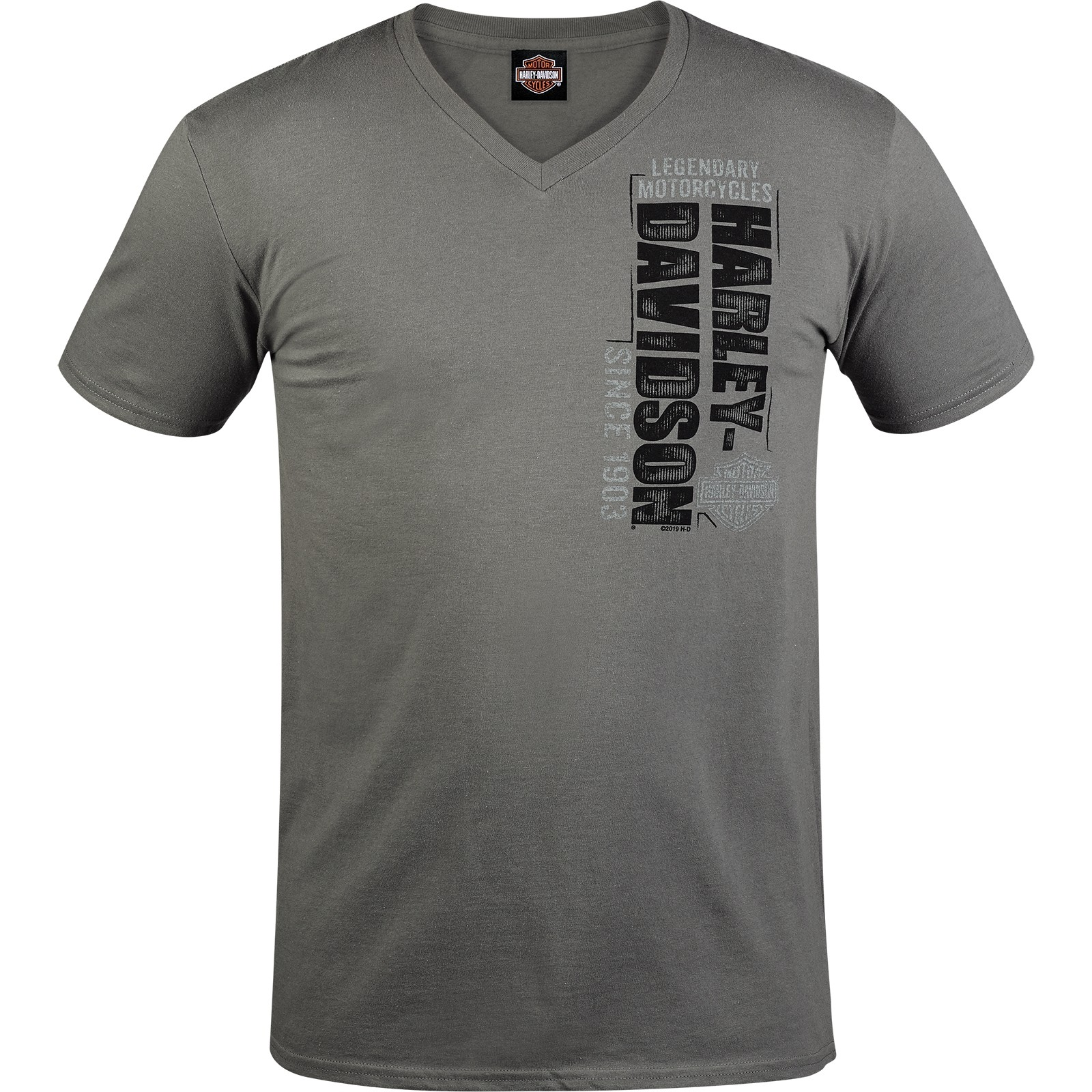 Harley-Davidson Men's Contemporary Fit V-Neck T-Shirt - Bagram Air Base | H-D Side
