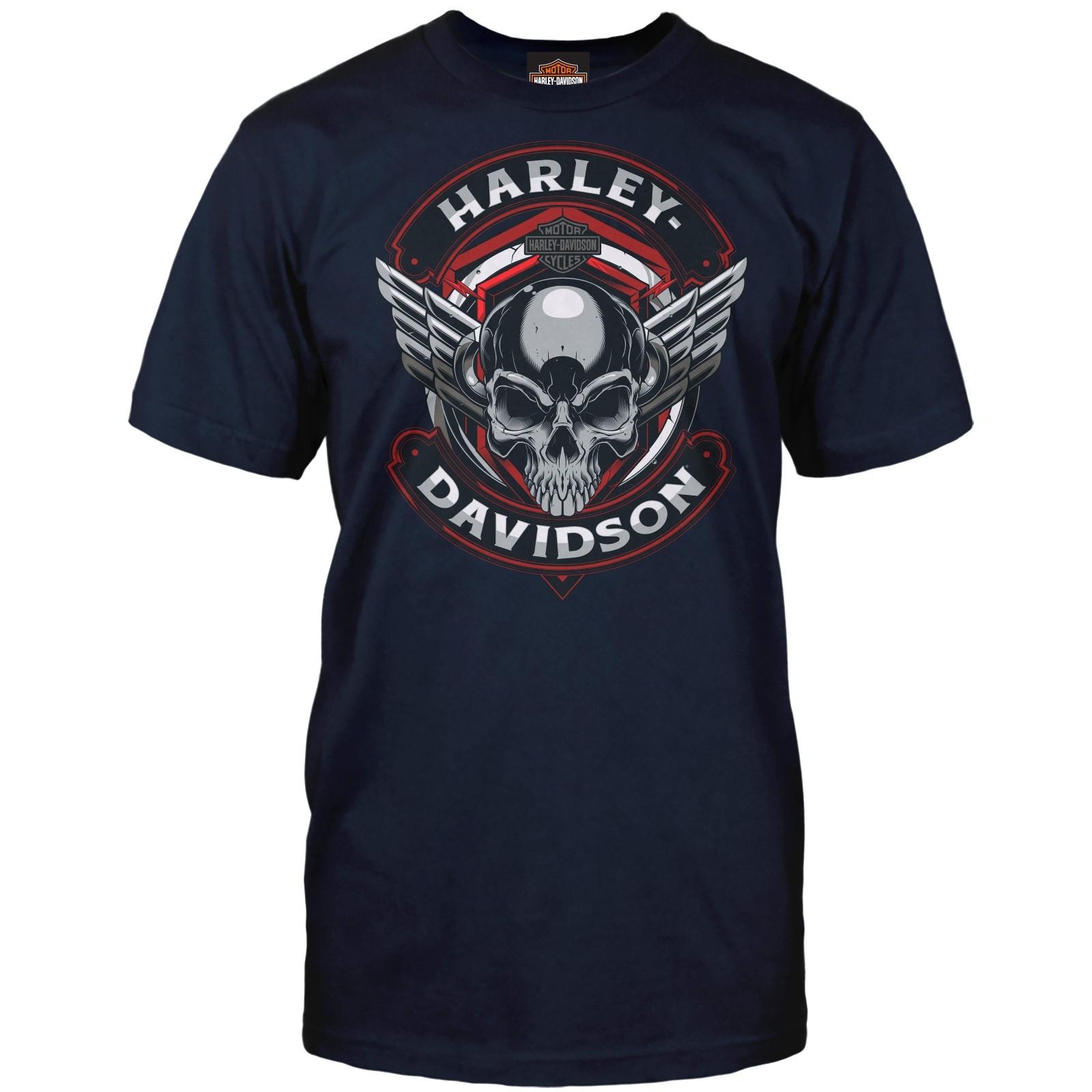 f1dac883e Harley-Davidson Men's Graphic Tee - Camp Humphreys   Steel Winged ...