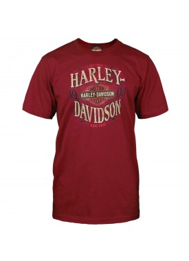 Harley-Davidson Men's Graphic Crew Neck T-Shirt - Baghdad | Arches