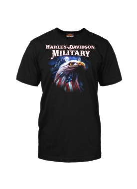 Harley-Davidson Men's Graphic Short-Sleeve T-Shirt - Overseas Tour | Patriot Eagle