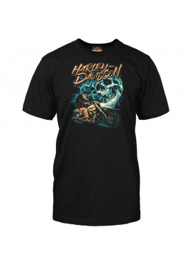 Harley-Davidson Men's Graphic T-Shirt - Kadena Air Base | Ride The Lightning