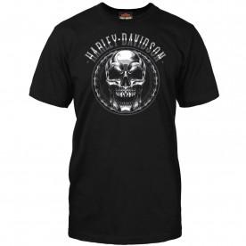 Harley-Davidson Men's Skull Graphic T-Shirt - USAG Stuttgart | Chromed Out