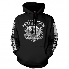 Harley-Davidson Military - Men's Graphic Pullover Hooded Sweatshirt - Military Collage | Epic