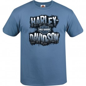 Harley-Davidson Men's Graphic Short-Sleeve T-Shirt - USAG Stuttgart | Negative H-D