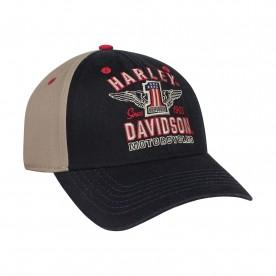 Harley-Davidson Men's Ballcap - Overseas Tour | RWB #1 Wings