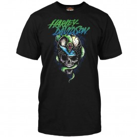 Harley-Davidson Men's Short-Sleeve Graphic T-Shirt - RAF Mildenhall | Savagery