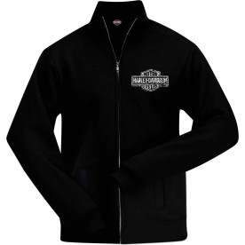 Harley-Davidson Military Hoodless Zip Sweatjacket | Trade Marked - Overseas Tour