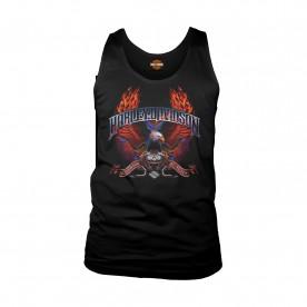 Harley-Davidson Men's Eagle Tank Top - Camp Lemonnier | Wings of Fire
