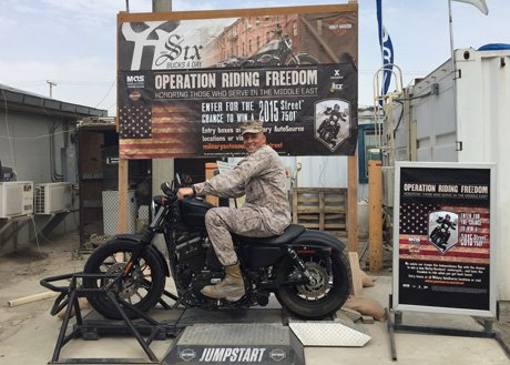 Harley-Davidson Military Sales Gives Back